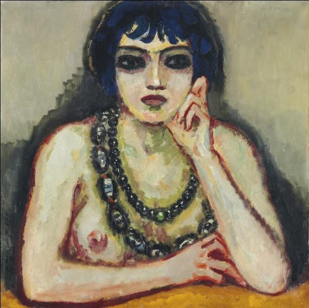Femmes au collier en peinture