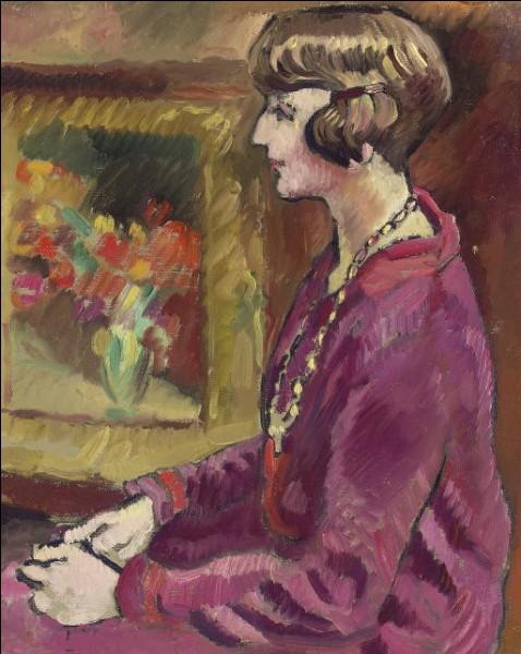 """À qui appartient ce tableau intitulé """"Femme au collier"""" ?"""