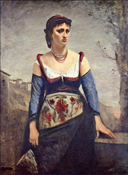 Le nom de cette femme au collier est Agostina. Qui l'a prise pour modèle ?