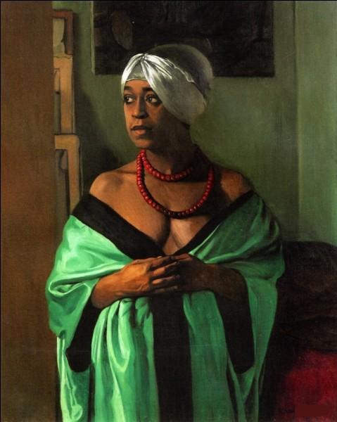 """Qui a peint cette femme au collier nommée """"Aicha"""" ?"""