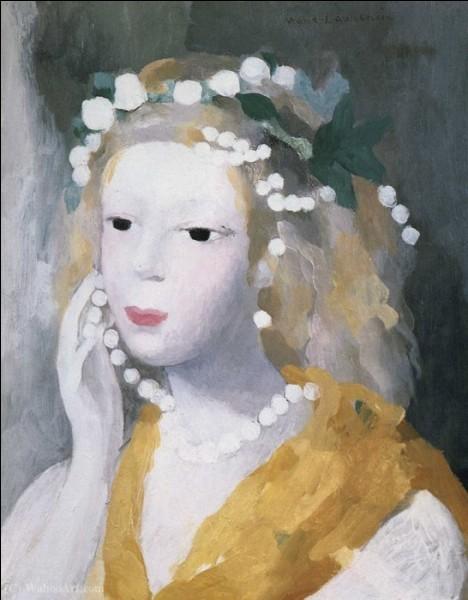 Femmes au collier en peinture (3)