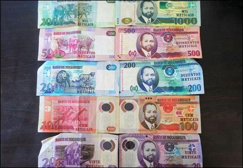 Quelle est la monnaie du Mozambique ?
