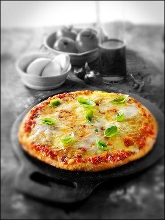 """Où sont les ingrédients de la """"pizza reine"""" ? (image décorative)"""