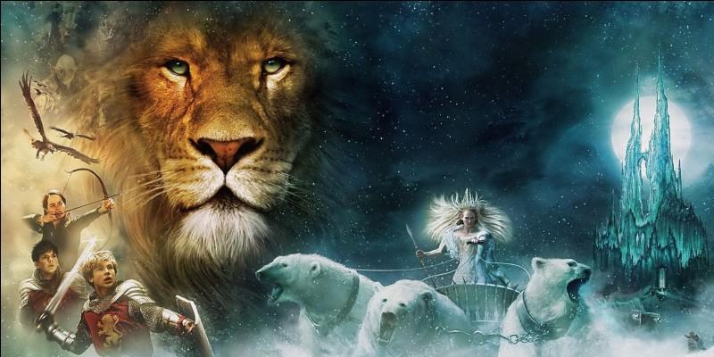 Ce grand lion est...