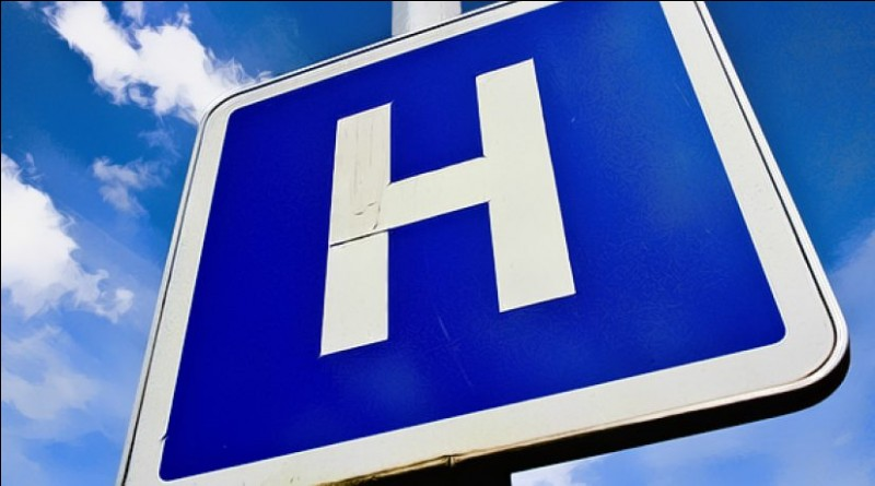 """Qu'est-ce qui manque aux lettres """"ur…'' pour avoir un lieu où les gens peuvent se faire soigner ?"""