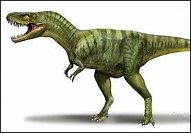 D'où vient l'albertosaurus ?