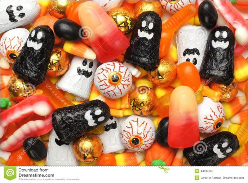 Comment se nomment les sucreries qui peuvent avoir des goûts très surprenants ?