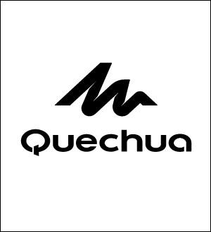 """""""Q"""" comme """"Quechua"""". Cette marque d'équipement sportif, spécialisée dans les activités en extérieur, appartient à l'enseigne ..."""