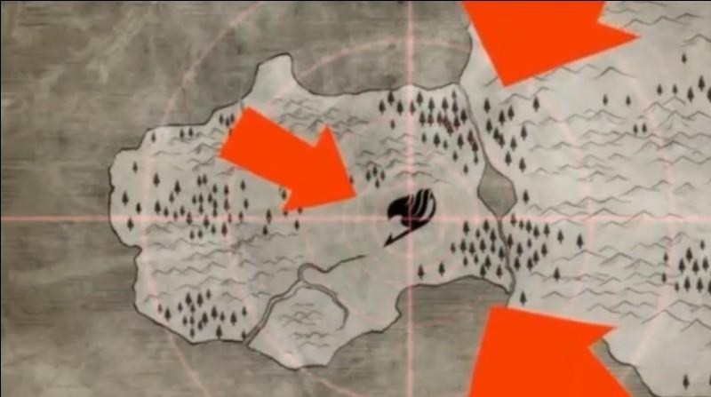 Lors du début de la guerre entre Alvarez et Fairy Tail, lequel de ces Spriggans arrive par le Sud ?