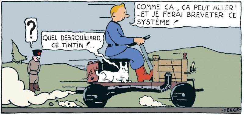 Qui est l'auteur des'' Aventures de Tintin'' ?