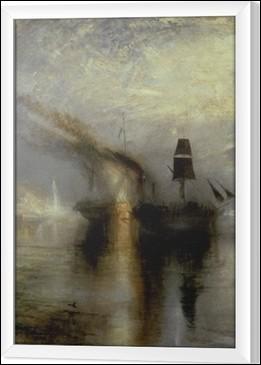 """Quel peintre fut surnommé """"Le peintre de la lumière"""", dont une des œuvres les plus célèbres est """"Pluie, Vapeur et Vitesse"""" ?"""