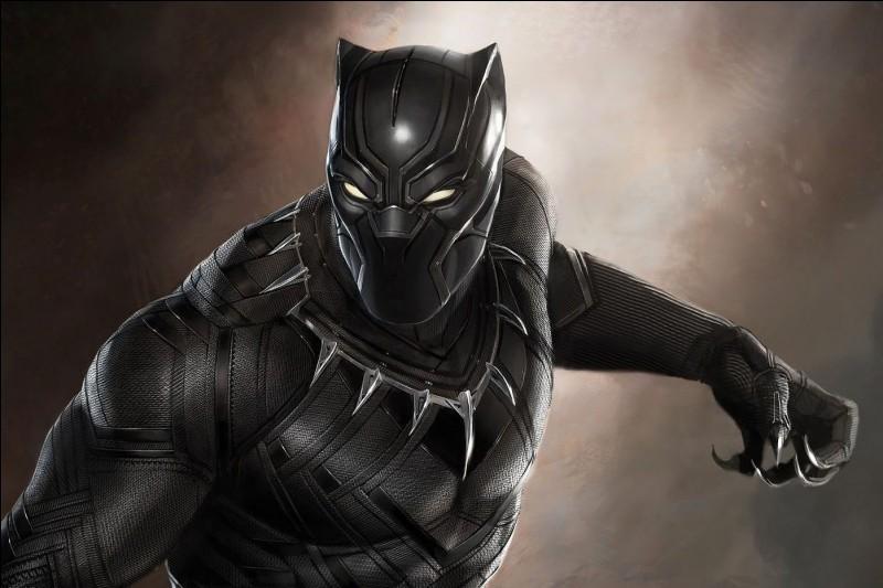 """Quel est le logo du film """"Black Panther"""" ?"""