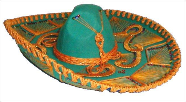 Comment s'appelle le chapeau des Mexicains ?
