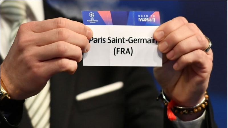 Quelles équipes affrontent le PSG lors de la phase de groupe de la Ligue des champions 2018-2019 ?