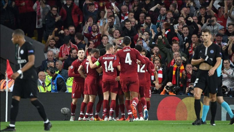 Quel attaquant de Liverpool a crucifié le PSG à la fin du match aller de la phase de groupes de Ligue des champions ?