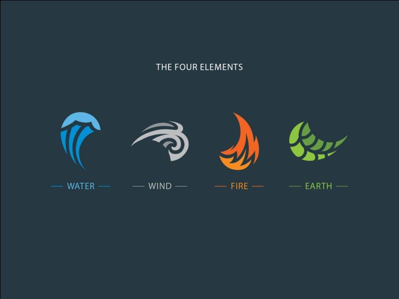 Parmi les 4 éléments, lequel te représente le mieux ?