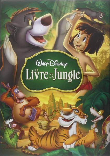 """Dans """"Le Livre de la jungle"""", qui enlève Mowgli lorsqu'il est sur le ventre de Baloo ?"""