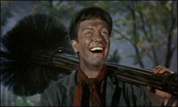 Comment s'appelle l'ami ramoneur de Mary Poppins ?
