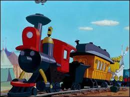Dans le dessin animé ''Dumbo'', comment s'appelle le petit train qui transporte les animaux ?