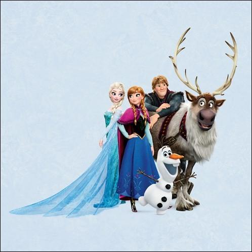 """Dans """"La Reine des neiges"""", comment s'appelle le renne de Kristoff ?"""