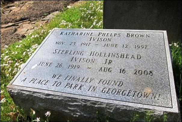Qu'a fini par trouver ce couple, dans la ville de Georgetown ?