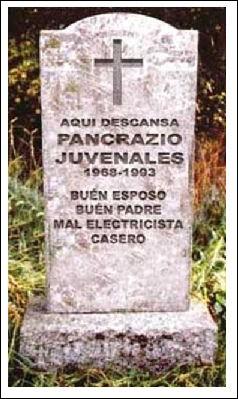 """Ce monsieur Juvenales était considéré par les siens comme """"bon père et bon mari, ..."""" (Complétez !)"""