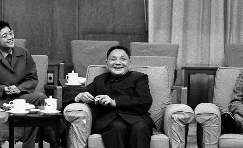 Pour laquelle de ces propositions, Deng Xiaoping est-il le plus connu ?