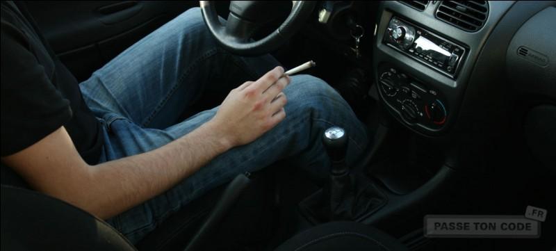 La conduite sous l'emprise du cannabis est :