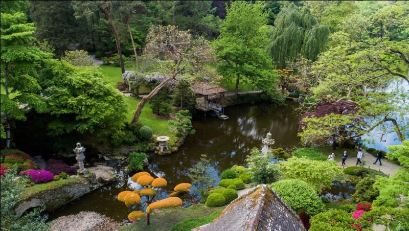 Pour vous détendre après avoir bien joué, je vous donne rendez-vous dans le plus grand jardin japonais d'Europe situé dans le département 49.Quel est ce département ?