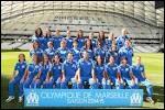 En quelle année les féminines de l'OM ont-elles gagné le championnat de France de D2 ?