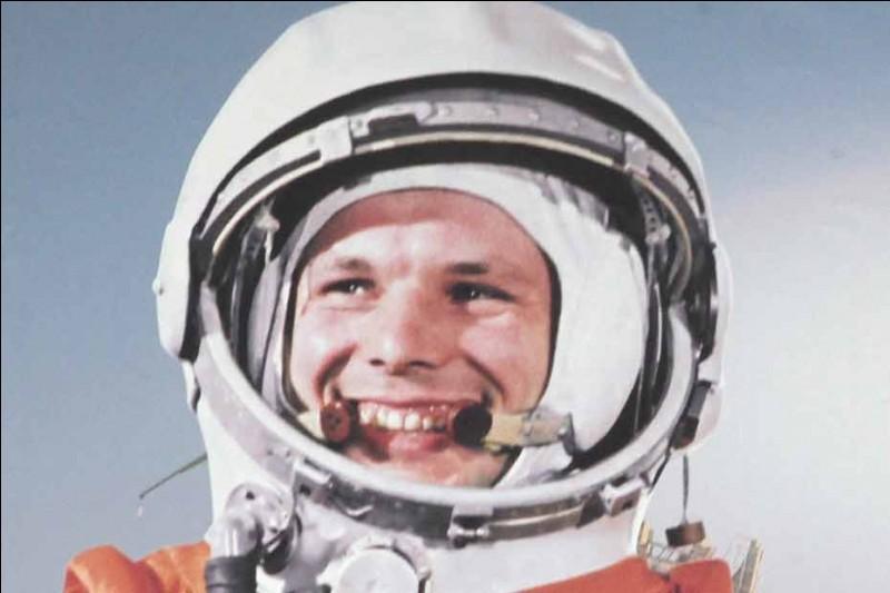 Qui a été le premier homme dans l'espace ?