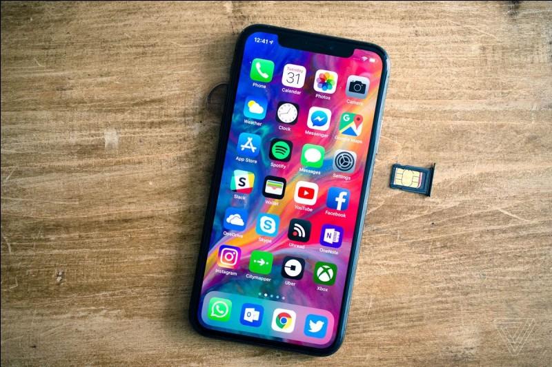 Quel est le nom de la marque produisant les Iphones ?