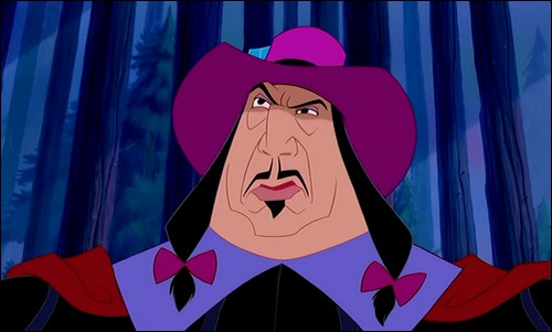 Comment se nomme ce méchant que l'on trouve dans Pocahontas ?