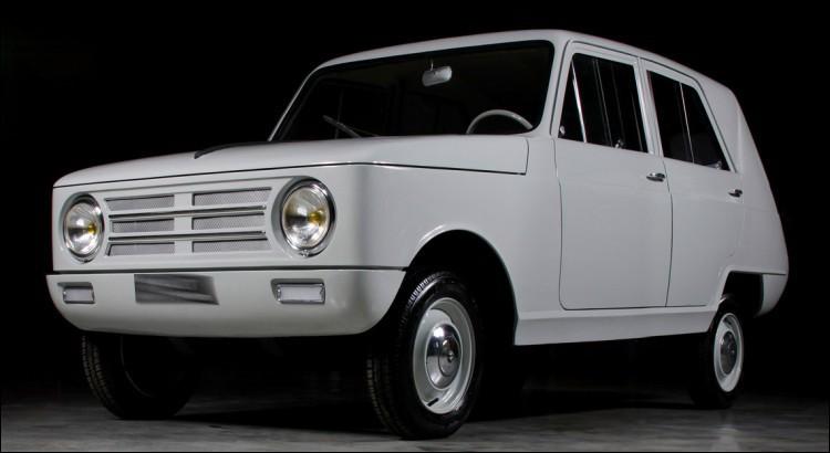 Un véhicule qui n'a pas arrondi ses angles... ni ses fins de mois ! Qui a fait ça, en 1965 ?