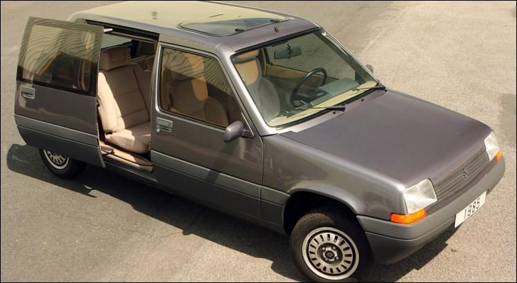 """Ce """"Supervan"""" 5 de 1985 a fait long feu, tout comme son carrossier d'ailleurs... Lequel ?"""