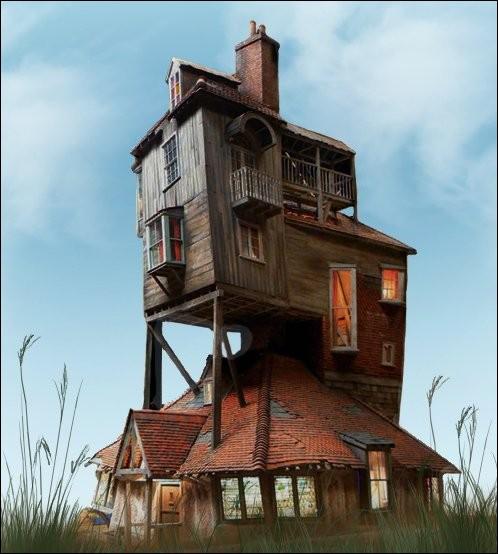 Comment s'appelle la maison des Weasley ?