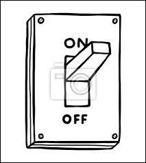 Quel est le symbole de l'interrupteur ouvert ?