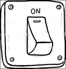 Quel est le symbole de l'interrupteur fermé ?