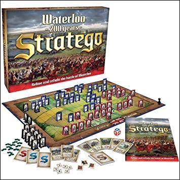 """Dans """"Stratego"""", quel est le pion du plus haut grade dans chaque armée ?"""