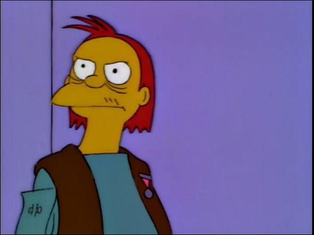 Quel membre de la famille Simpson est un ami d'Herman ?