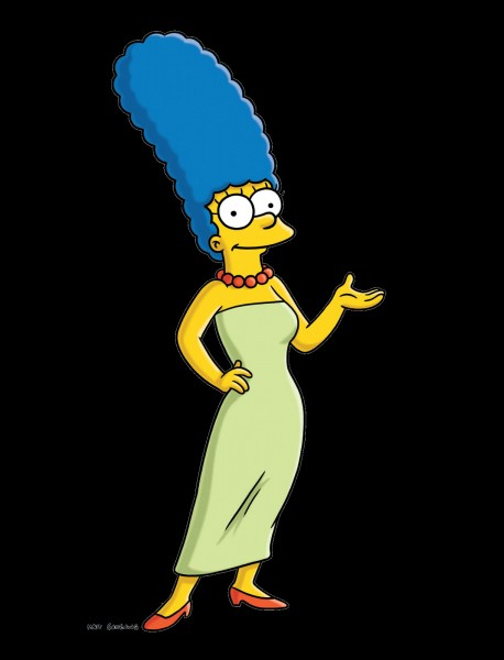 Quel est le métier de Marge Simpson alors qu'Herman vend des jeans de contrefaçons dans le garage des Simpson ?
