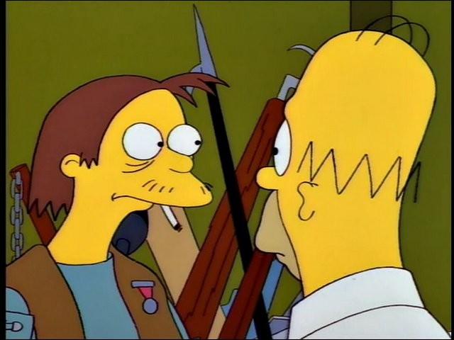 Est-il un ami d'Homer Simpson ?