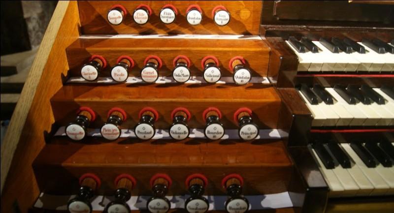 """Parmi les jeux de fonds de l'orgue, ceux dits """"de flûtes"""" sont au nombre d'une centaine. Parmi les suivants, l'un n'existe pas. Lequel ?"""