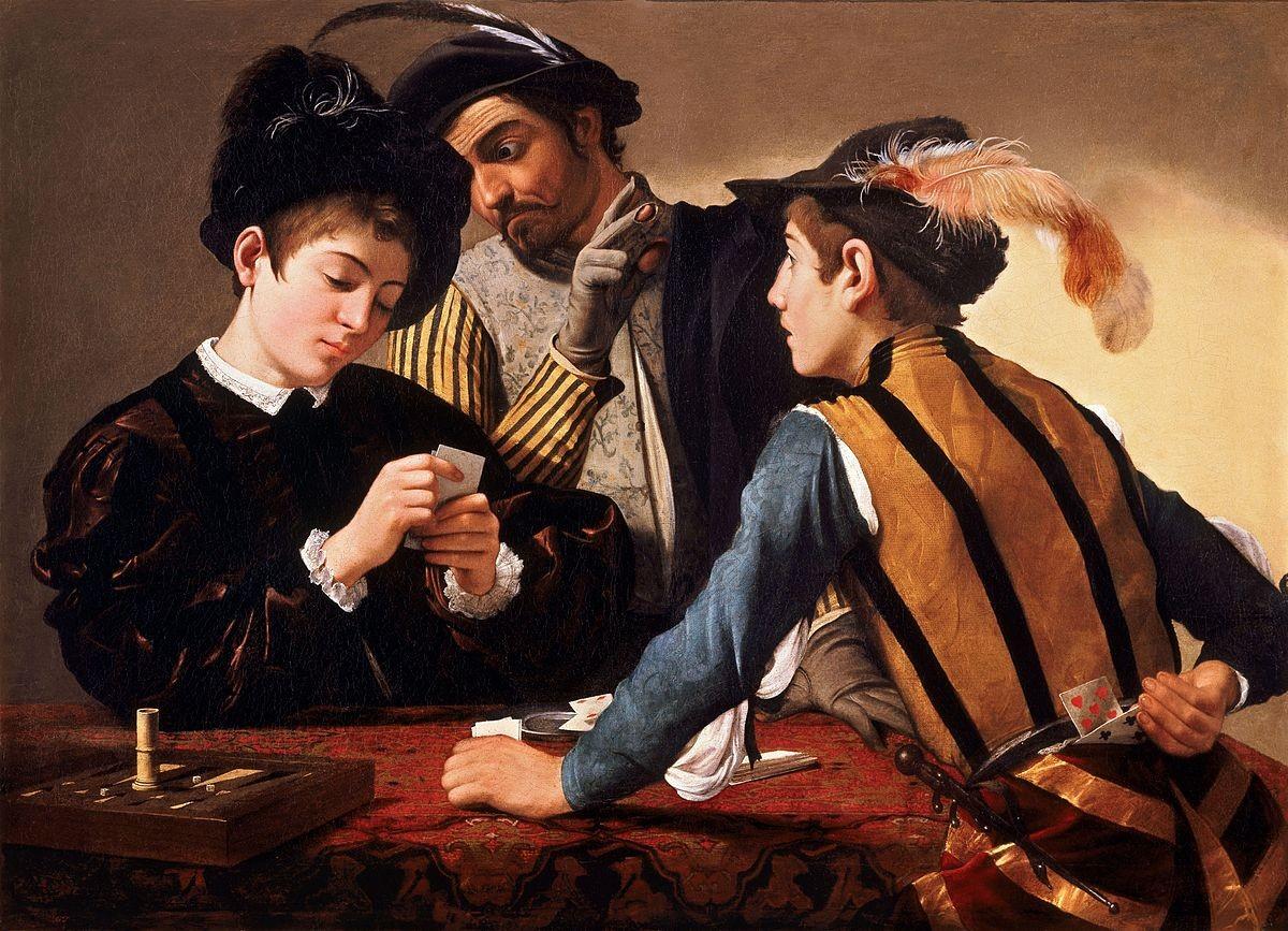 Peinture - Les Tricheurs