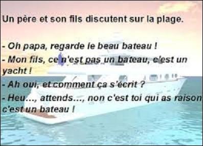 """Langues étrangères - Comment dit-on """"bateau"""" en espagnol ?"""