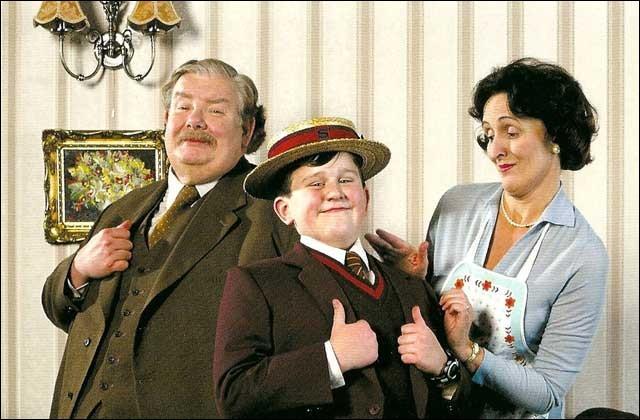 Comment s'appellent l'oncle, la tante et le cousin d'Harry Potter ?