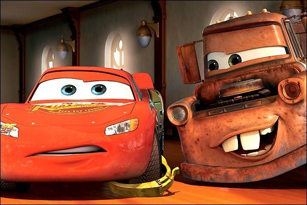 (Cars) Comment s'appelle le meilleur ami de Flash McQueen ?
