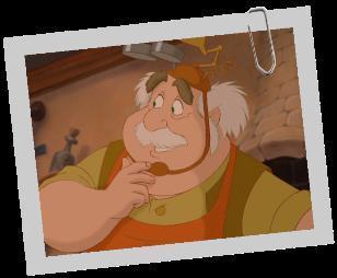 (La Belle et la Bête) Comment se prénomme le génie de père de Belle ?