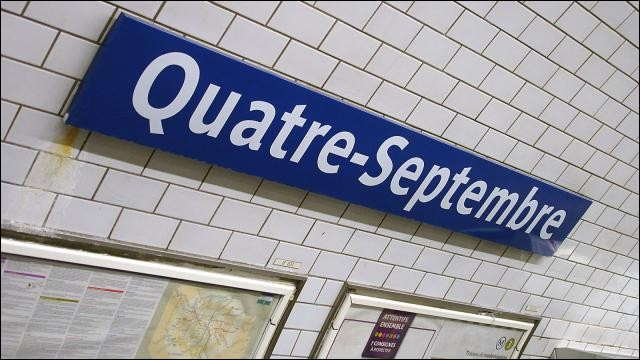 Que se passe-t-il chaque année le 4 septembre, à la station Quatre-Septembre ?