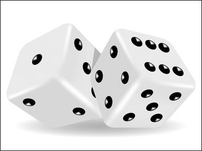 Un dé est jeté. Quelle est la probabilité d'obtenir un chiffre strictement inférieur à 4 ?